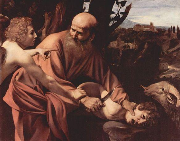 10 Caravaggio-Il sacrificio di Isacco