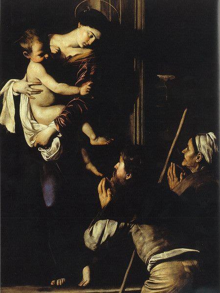 Michelangelo-Merisi-Il-Caravaggio-Madonna-dei-pellegrini